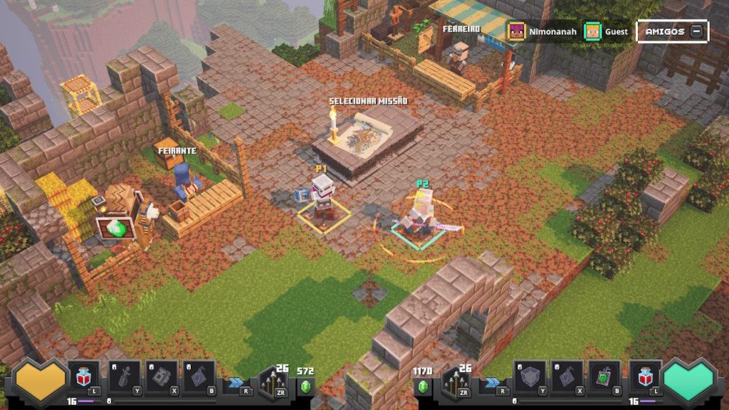 Minecraft - Cenário