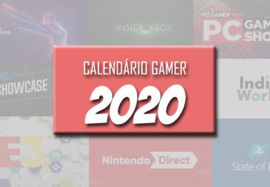 Calendário Gamer