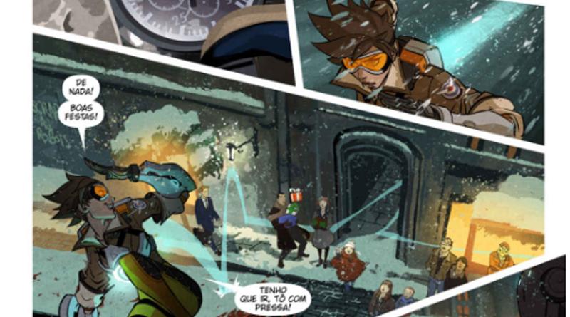 overwatch - 7 jogos que viraram quadrinhos