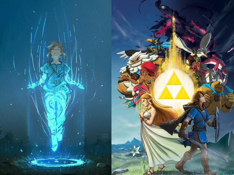 Wallpaper1 - 8 wallpapers de celular da série Zelda