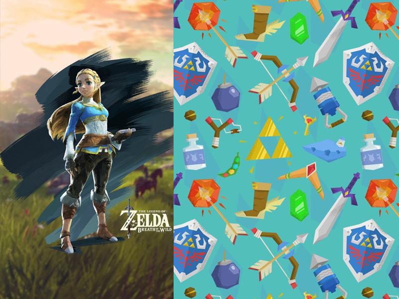 Wallpaper2 - 8 wallpapers de celular da série Zelda