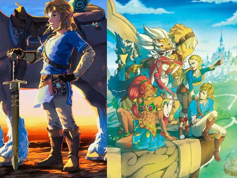 Wallpaper3 - 8 wallpapers de celular da série Zelda