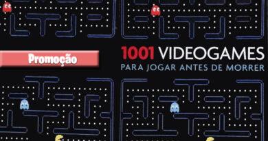 Promoção do Livro 1001 videogames para jogar antes de morrer
