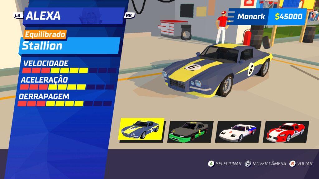 Hotshot racing selection 1024x576 - Análise de Hotshot Racing