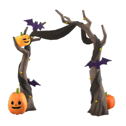 animal crossing new horizons guide pumpkins item diy icon spooky arch - Animal Crossing - Todos os itens de Halloween