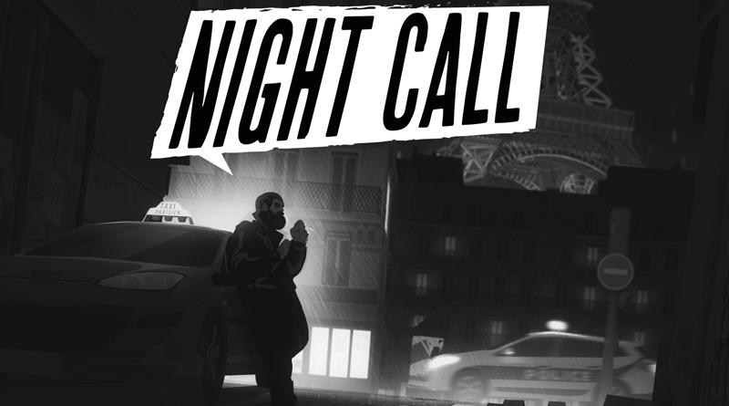nightcall - 6 jogos em cores branco e preto