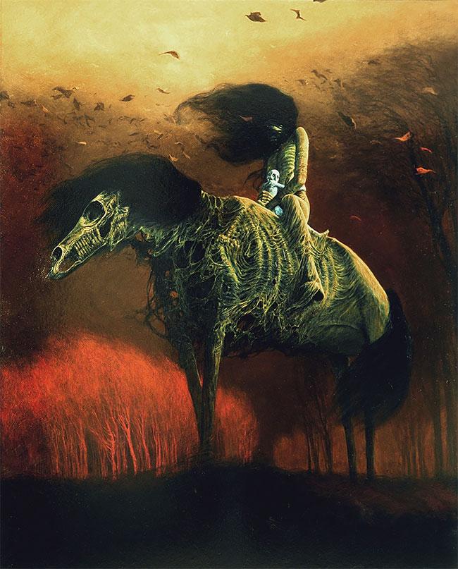 Obra de Zdzisław Beksiński