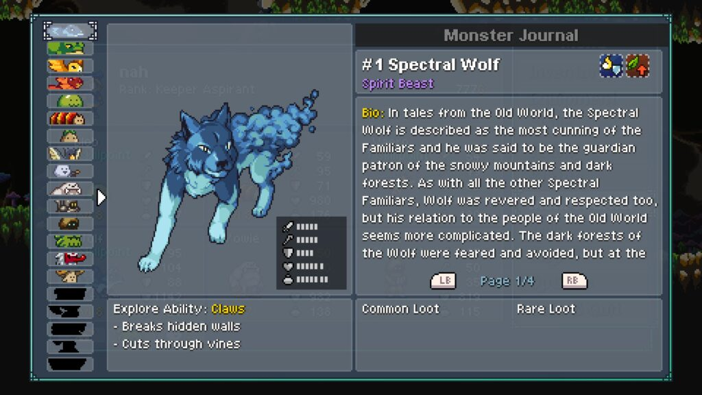 ElISI8IXgAANrjD 1024x576 - Primeiras impressões de Monster Sanctuary