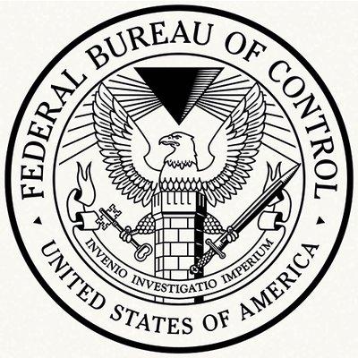 Logotipo do Departamento Federal de Controle (DFC)