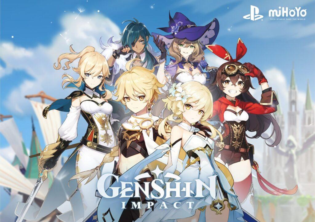 Alguns dos personagens jogáveis e adquiridos ao longo do jogo