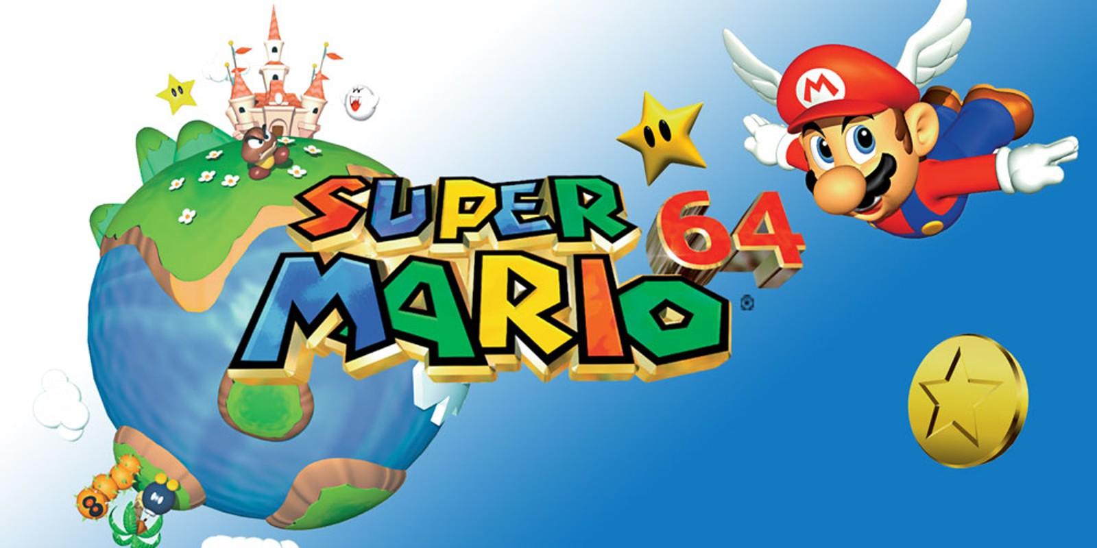 SI N64 SuperMario64 image1600w - Por que Mario foi para frente e Sonic não?