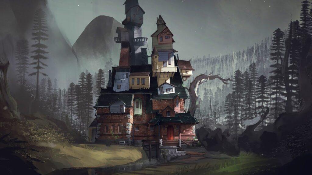 Com formato peculiar, várias gerações de Finches ocuparam esta casa