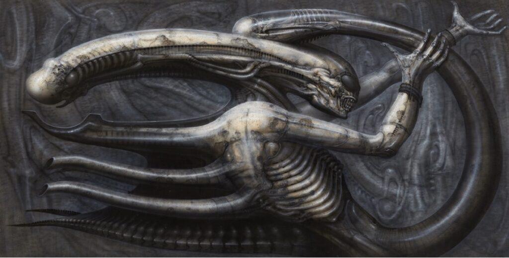 Obra similar a Alien