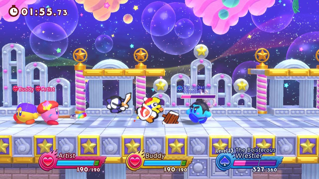Cenario 2 - Análise de Kirby Fighters 2