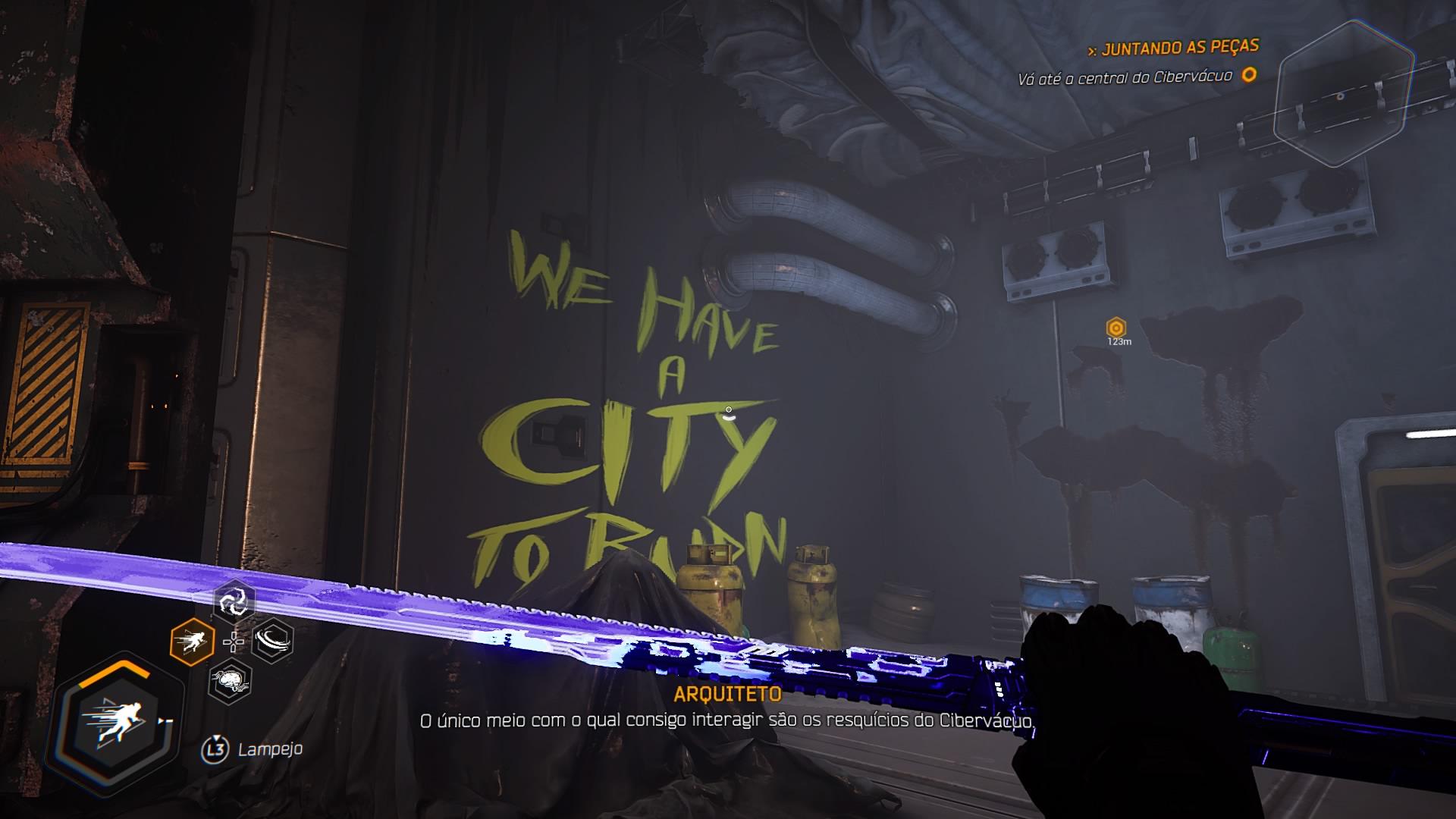 Referência a Cyberpunk 2077