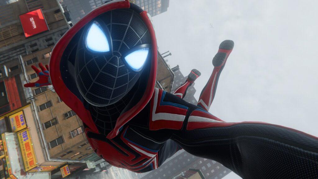 Você pode tirar selfies no ar