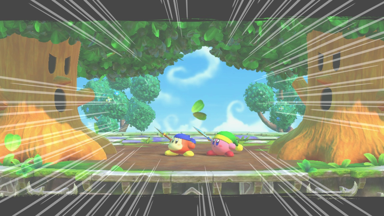 Twin Trees - Análise de Kirby Fighters 2