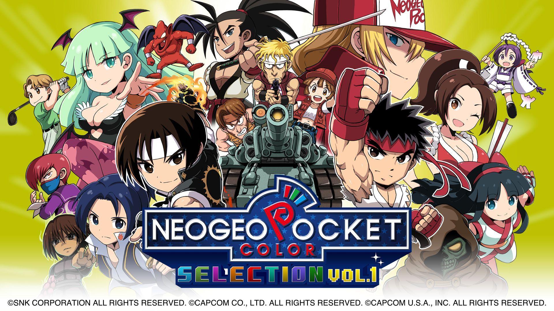 Neo Geo Pocket Switch